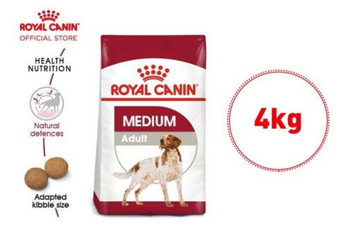 Royal Canin Medium Adult Makanan Anjing Dewasa Dry 4kg