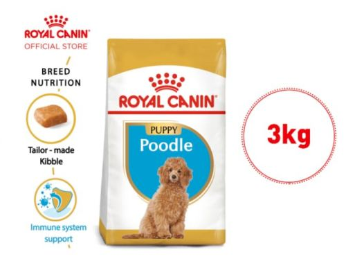 Royal Canin Poodle Puppy Makanan  Anak Anjing Dry 3kg